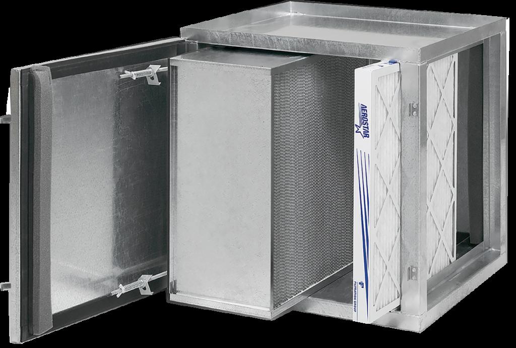 Caja de filtros Industriales grupo tegnair