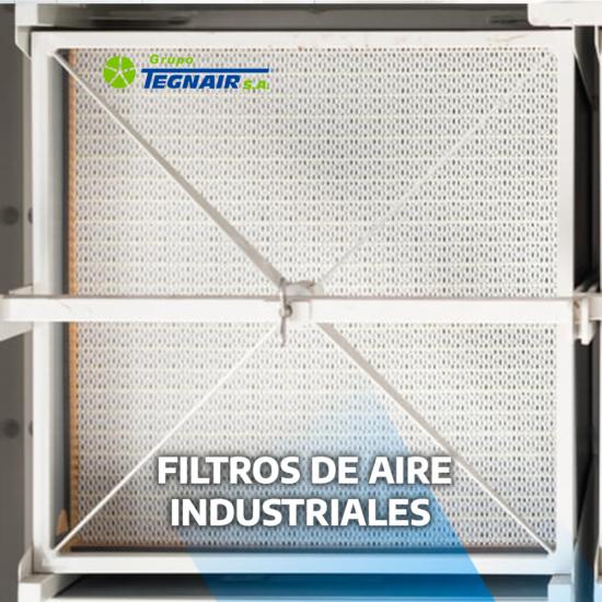 Filtros de aire industriales: tipos de filtros para la depuración del aire
